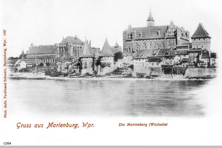 Marienburg, Westseite