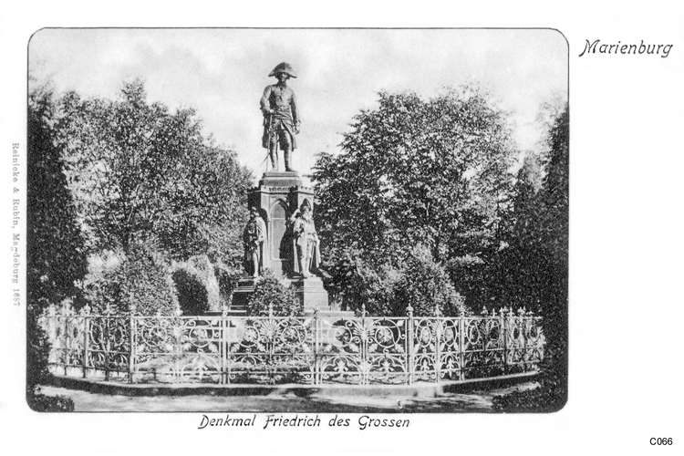 Marienburg, Denkmal Friedrich des Großen