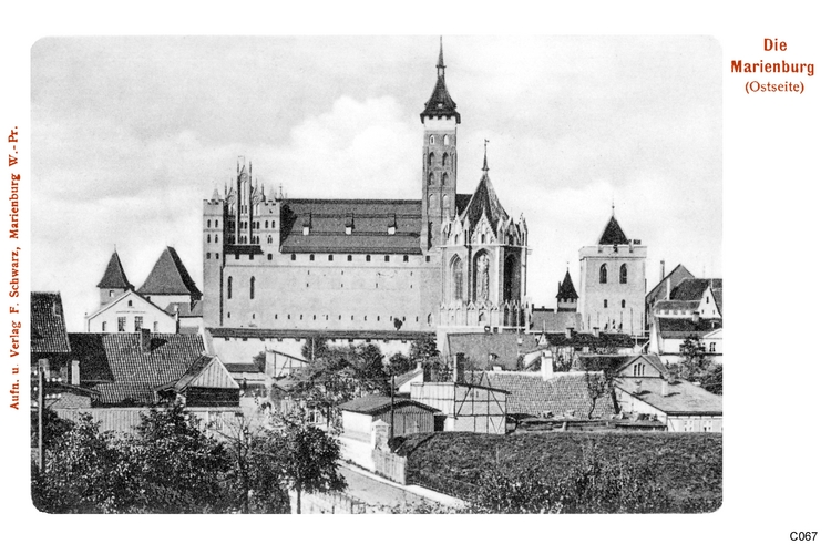 Marienburg, Ostseite