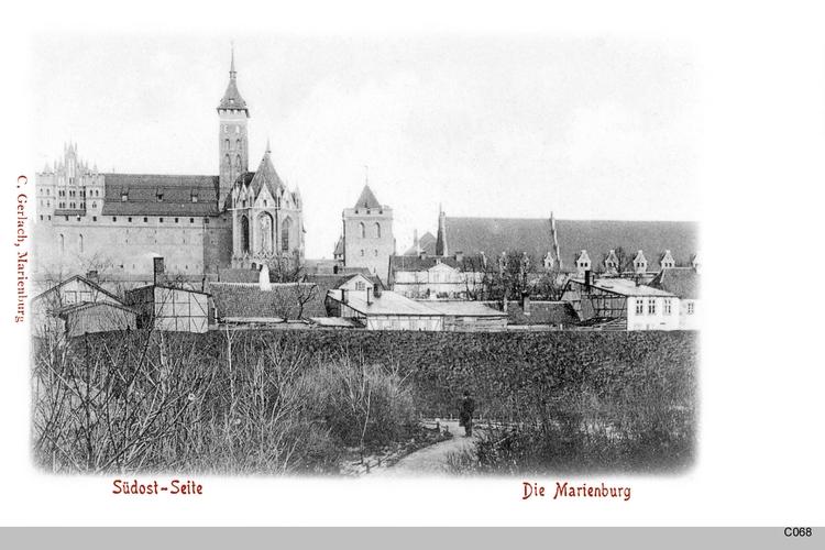 Marienburg, Südost-Seite