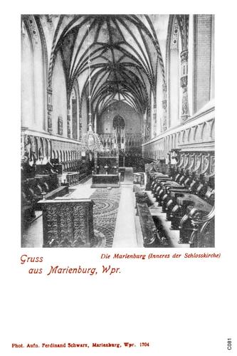 Marienburg, Schloßkirche, Innenansicht