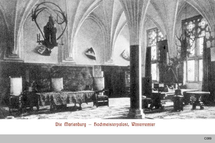 Marienburg, Hochmeisterpalast, Winterremter