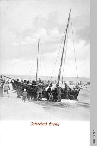 Cranz, Fischerboot
