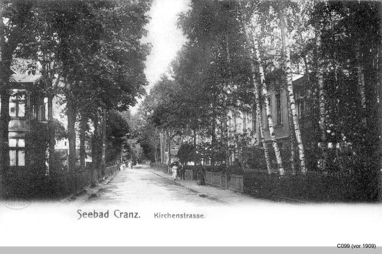 Cranz, Kirchenstraße