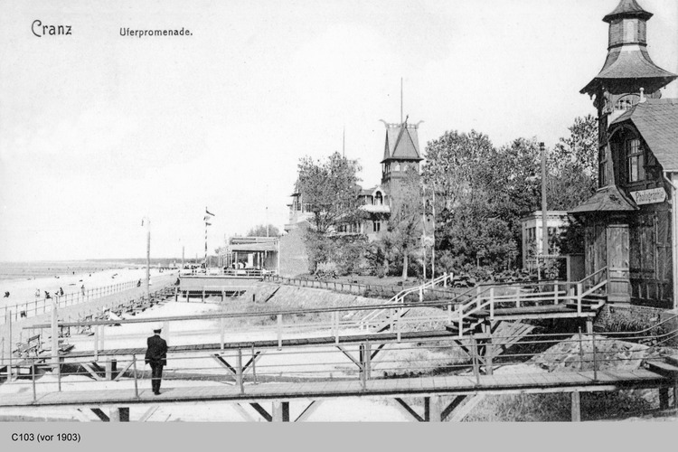 Cranz, Uferpromenade