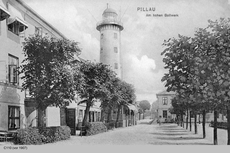 Pillau, Seestadt, Am hohen Bollwerk