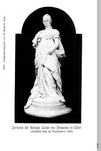 Tilsit, Denkmal der Königin Luise