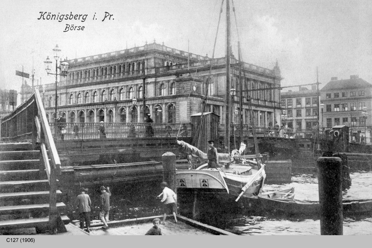 Königsberg, Börse am Pregel