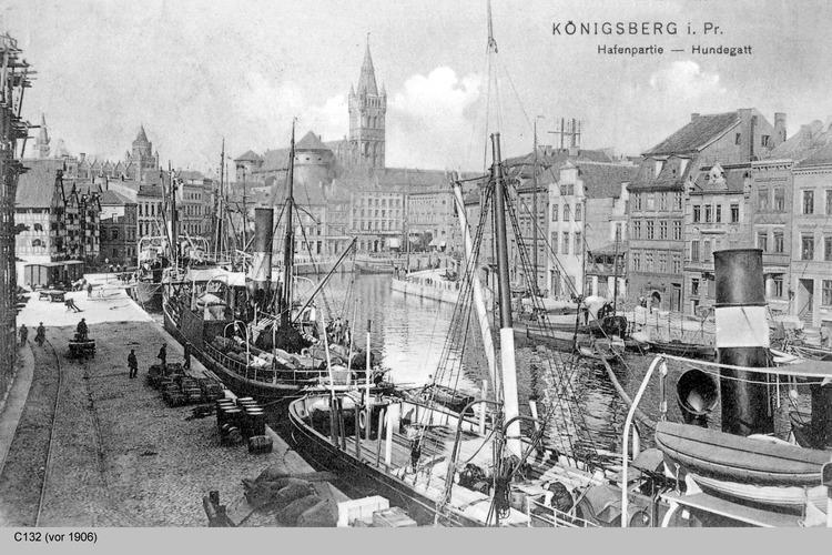 Königsberg, Hundegatt und Schloß