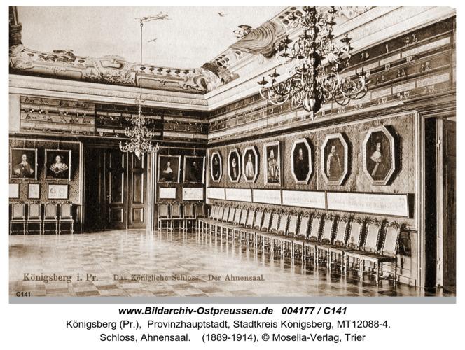 Königsberg, Schloss, Ahnensaal