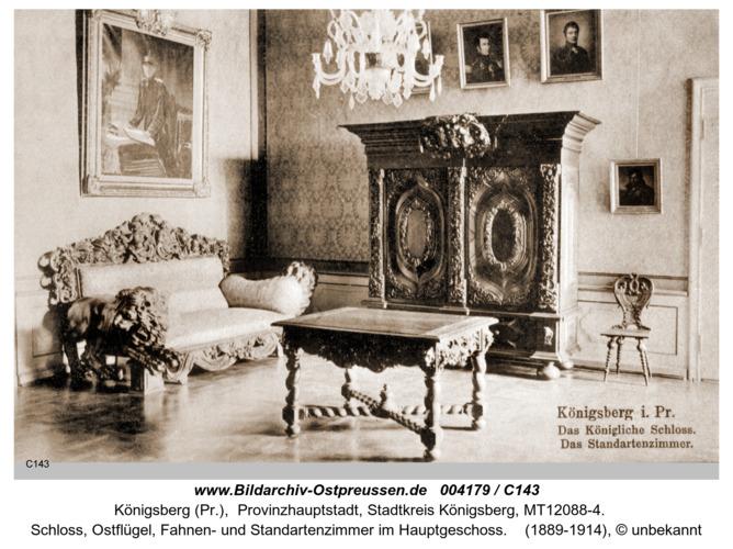 Königsberg, Schloß, Standartenzimmer