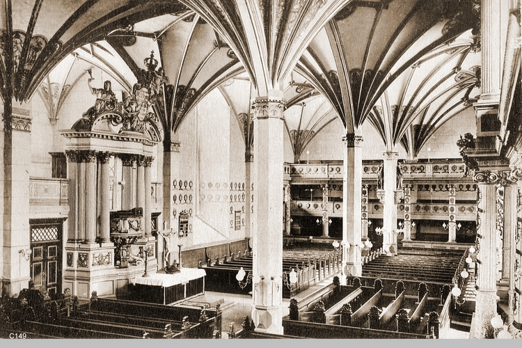 Königsberg, Schloßkirche Innen