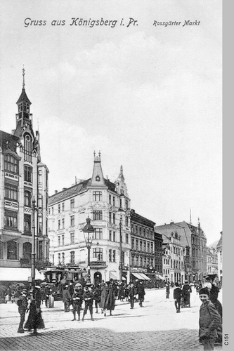 Königsberg, Roßgärter Markt