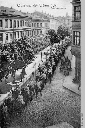Königsberg, Schützenstraße Soldaten