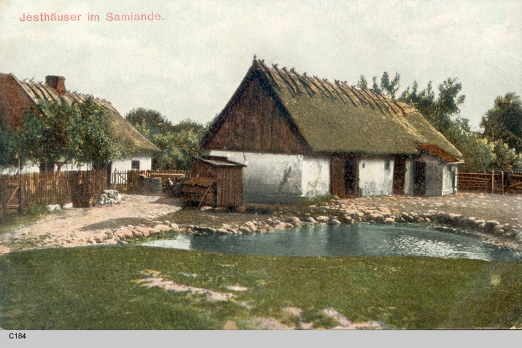 Samlandkreis, Jesthäuser im Samland
