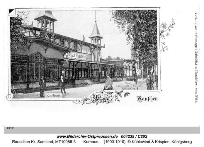 Rauschen Kr. Samland, Kurhaus
