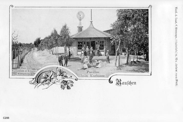 Rauschen, Pavillon
