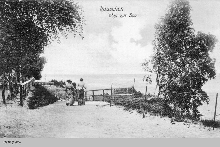 Rauschen Kr. Samland, Weg zur See