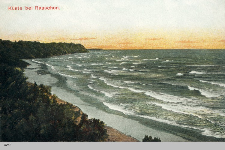 Rauschen, Küstenansichten
