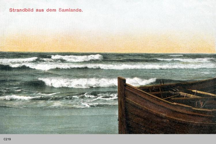 Samland, Strandbild