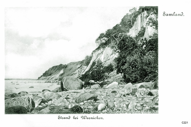 Warnicken, Strand
