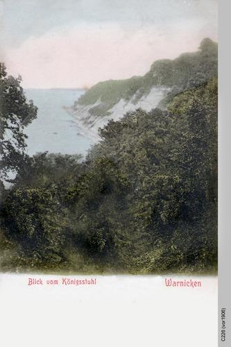 Warnicken, Blick vom Königsstuhl