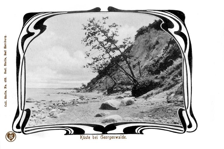 Georgenswalde, Küste