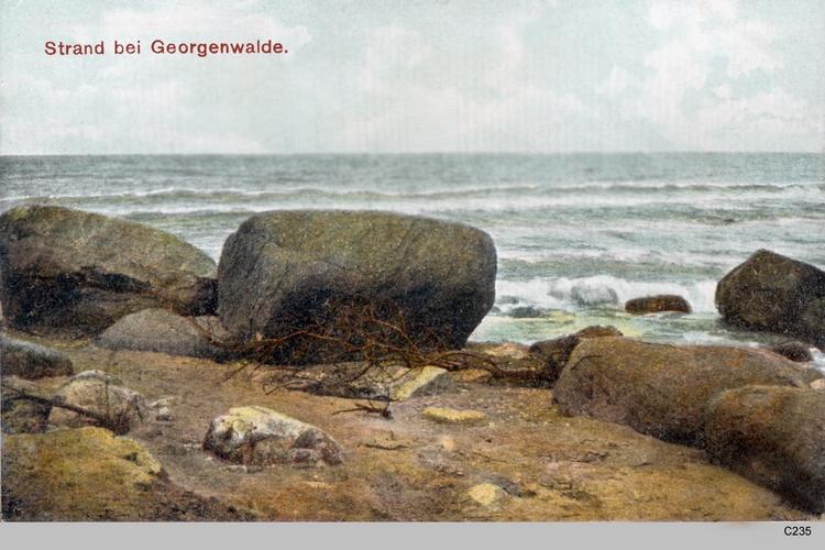 Georgenswalde, Strand
