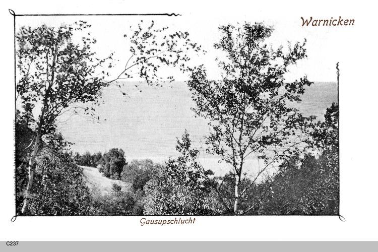 Georgenswalde, Gausupschlucht