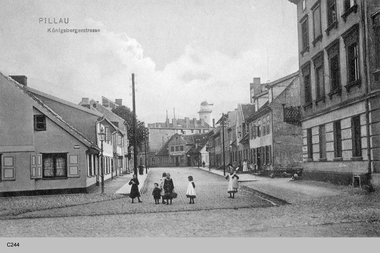 Pillau, Seestadt, Königsberger Straße