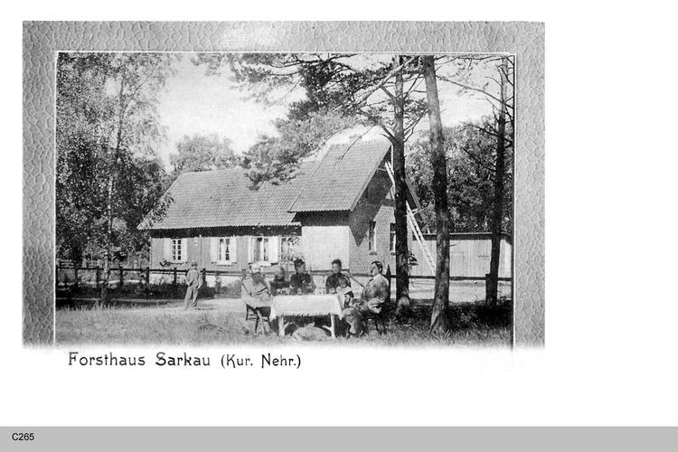 Sarkau, Forsthaus
