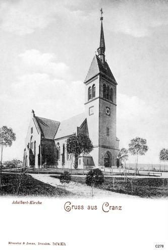 Cranz, Adalbert Kirche