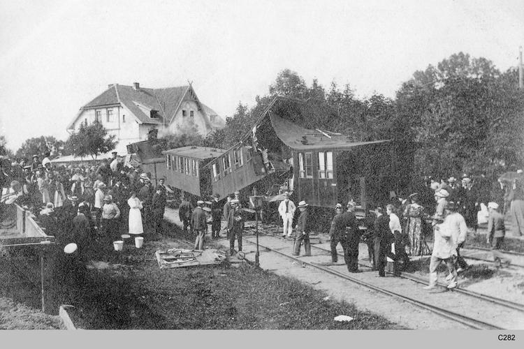 Ostpreußen, Eisenbahnunglück