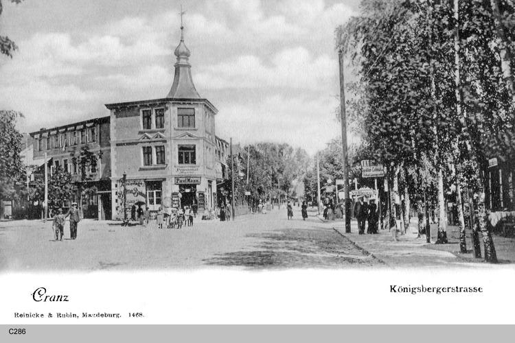 Cranz, Königsberger Straße