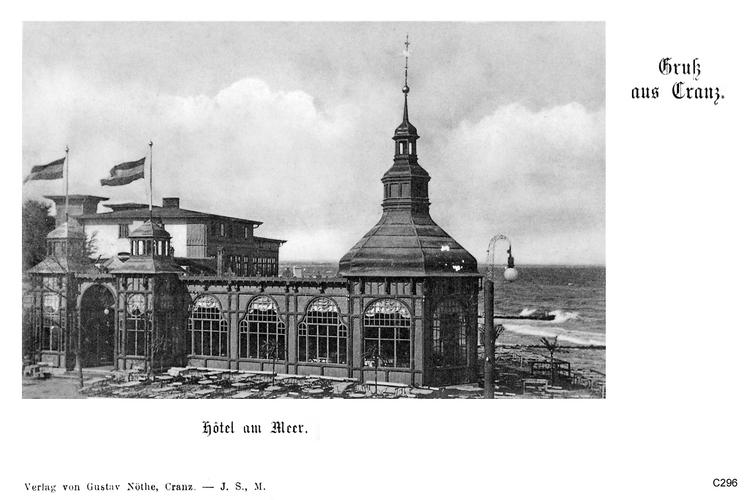 Cranz, Hotel am Meer