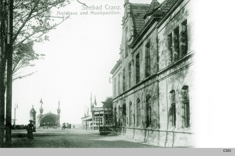 Cranz, Amtshaus Musikpavillon