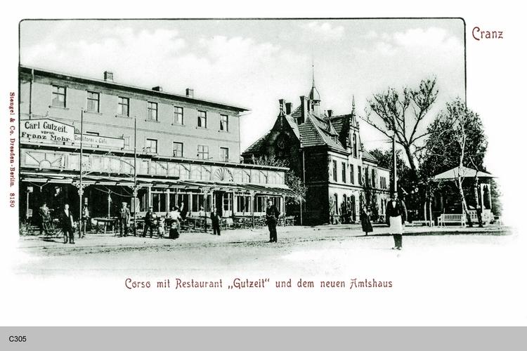 Cranz, Restaurant Gutzeit und Amtshaus
