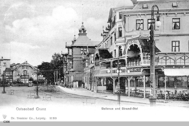 Cranz, Bellevue und Strandhotel
