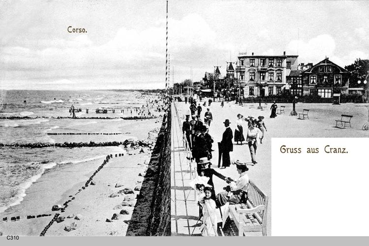Cranz, Corso und Hotel Gutzeit