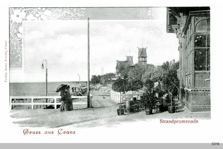 Cranz, Strandpromenade