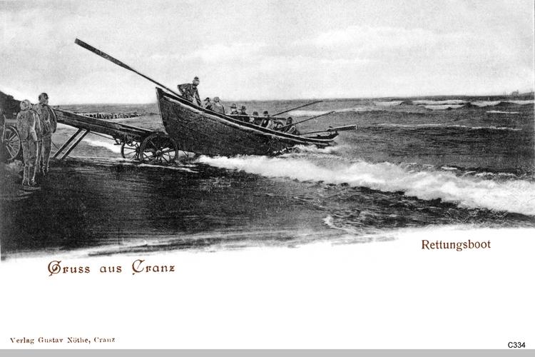 Cranz, Rettungsboot