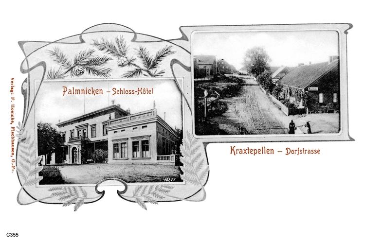 Palmnicken, Kraxtepellen
