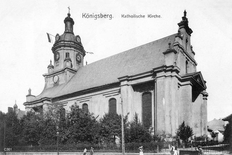 Königsberg, Katholische Kirche
