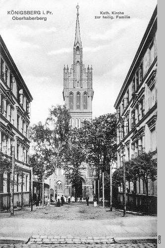 Königsberg, Kirche zur heiligen Familie