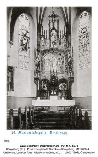 Königsberg, Amalienau, Adalberts Kapelle