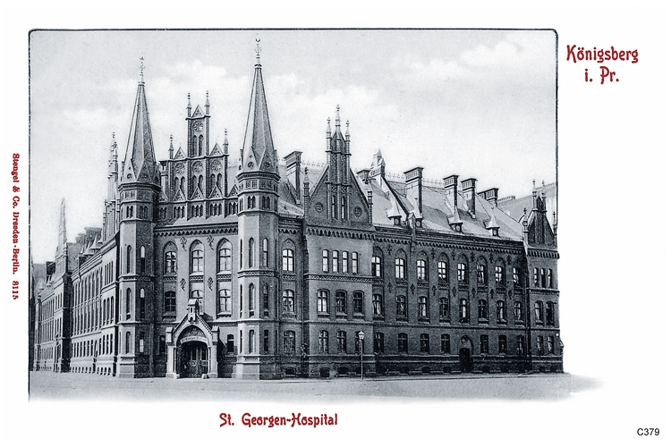 Königsberg, St. Georgenhospital