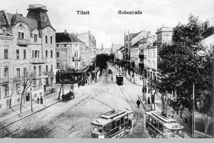 Tilsit, Hohe Straße