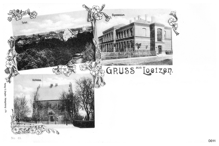 Lötzen, in Masuren, Ansichtskarte