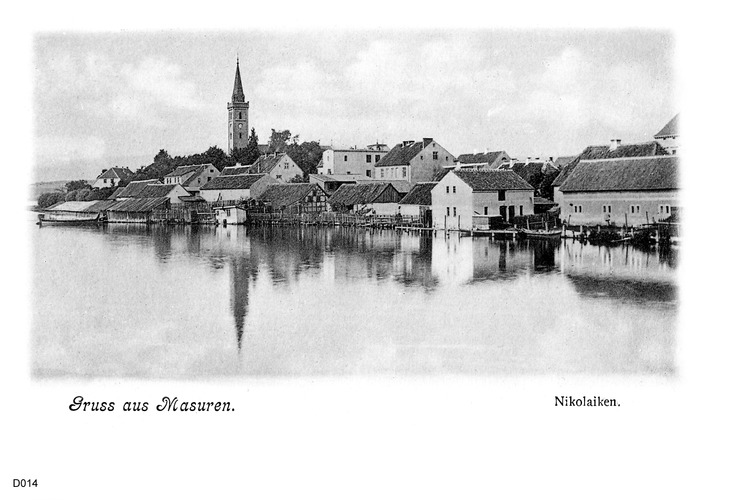 Nikolaiken, in Masuren