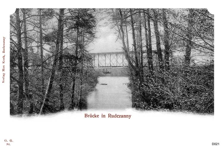 Rudczanny, Brücke